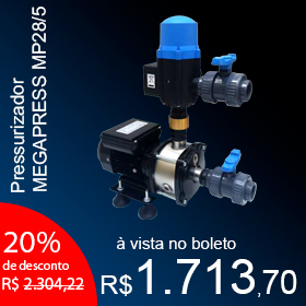 Pressurizador MEGAPRESS MP28/5