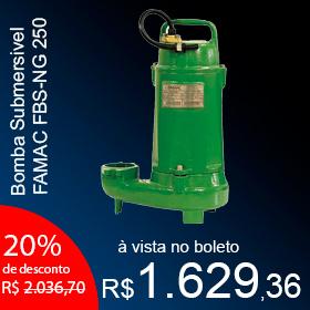 Bomba Submersivel FAMAC FBS-NG 250