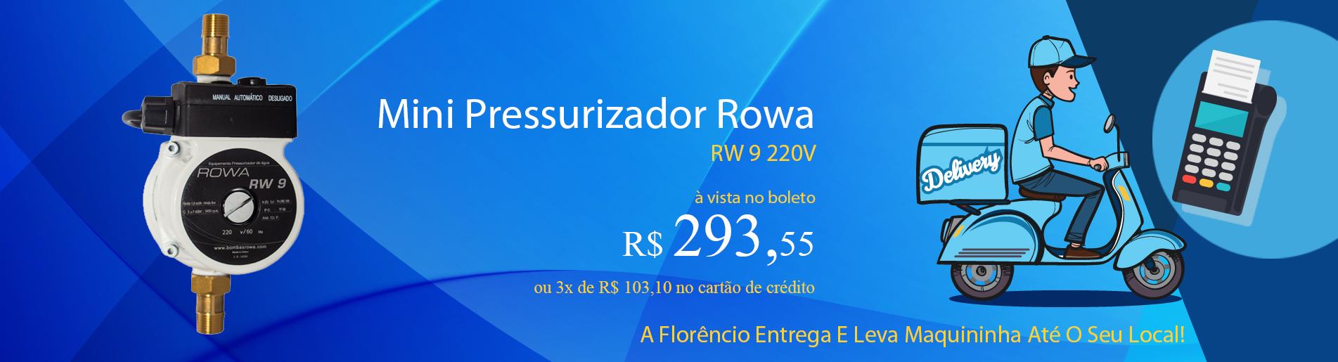 PRESSURIZADOR rw9